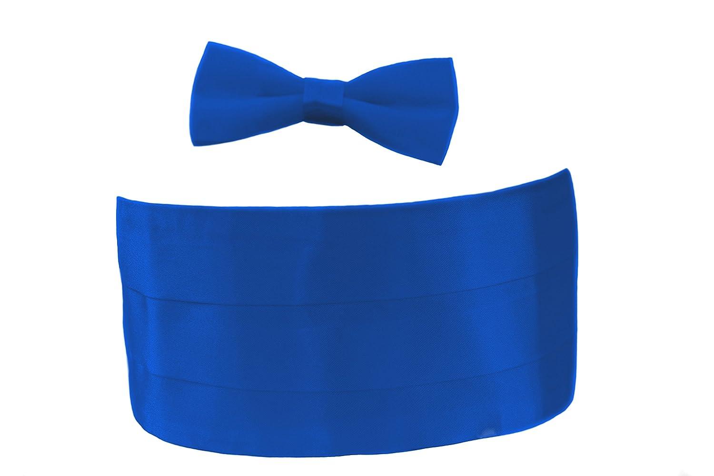 Boys Cummerbund And Bow Tie Set. Tuxedo Cummerbunds. Matching Bow Tie, Dickie Bow Tie, Smart Fromal Bow Tie. Fine Satin Shine, Various Colours.
