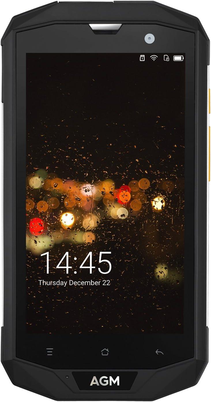 AGM A8 5.0 Pulgadas Smartphone-Negro: Amazon.es: Electrónica