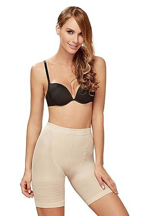 e86a48316bdba Amazon.com  ShapEager Faja Colombiana Reductora Short - Thermal Slimmer  Shapewear For Women Nude  Clothing
