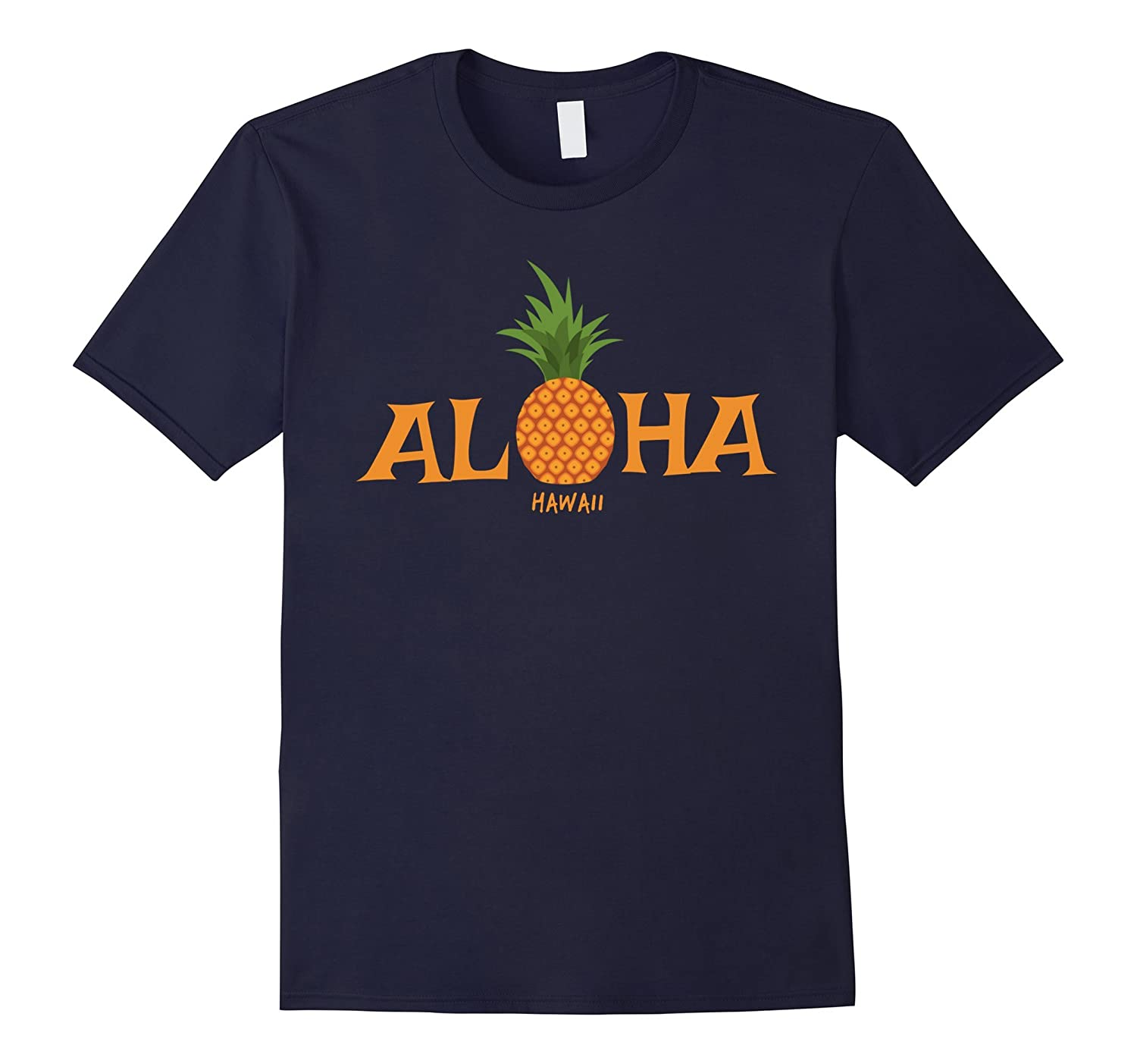 Hawaii Aloha Pineapple Hawaiian Islands Souvenir T-shirt-T-Shirt