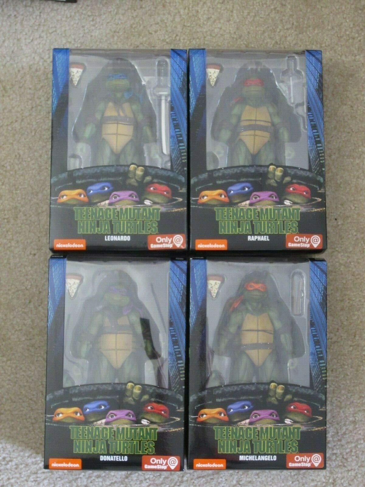 "Neca Replica Teenage Mutant Ninja Turtles Donatello 6.5/"" Action Figure 90s Movie"