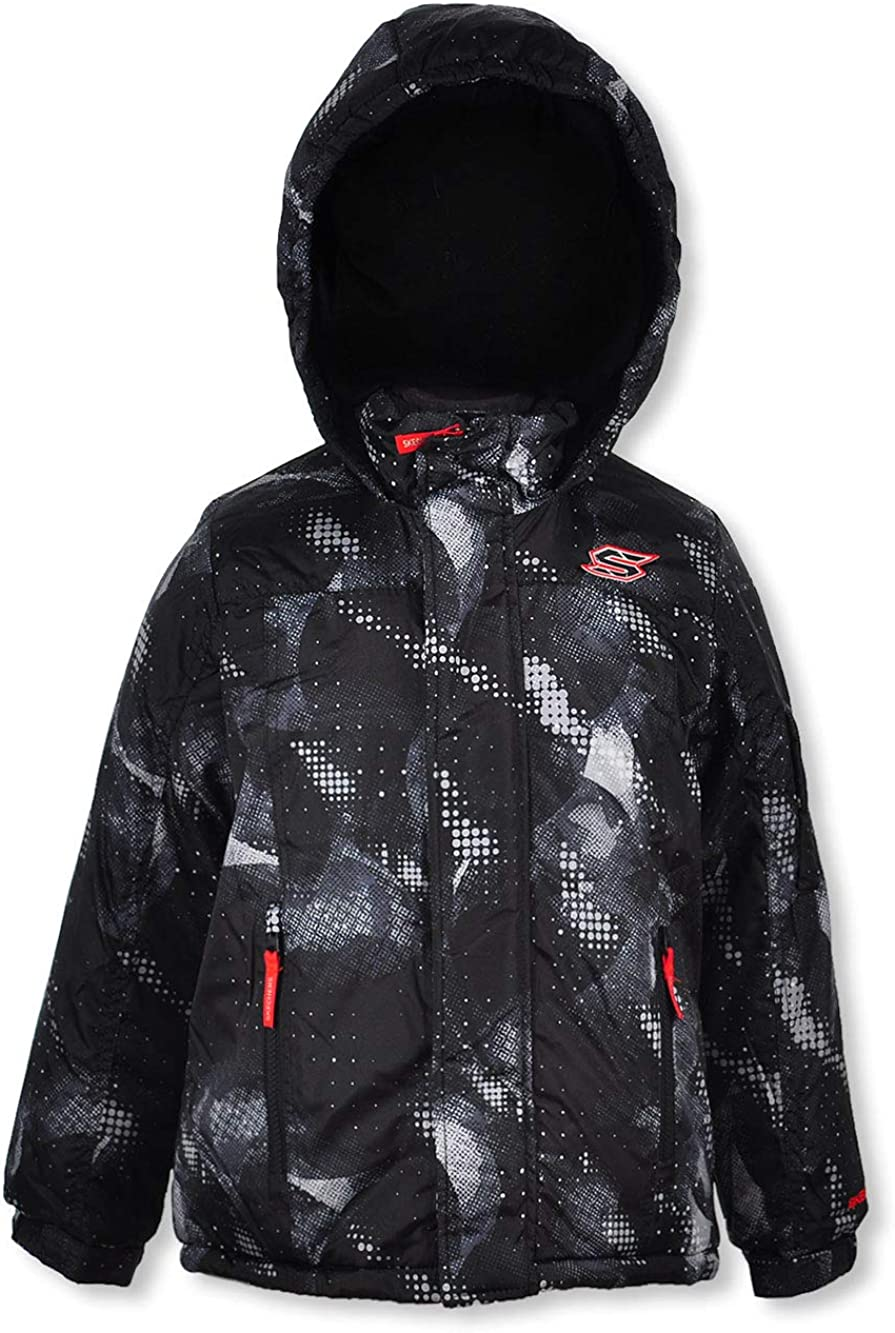 Skechers Boys Space Camo Insulated Jacket