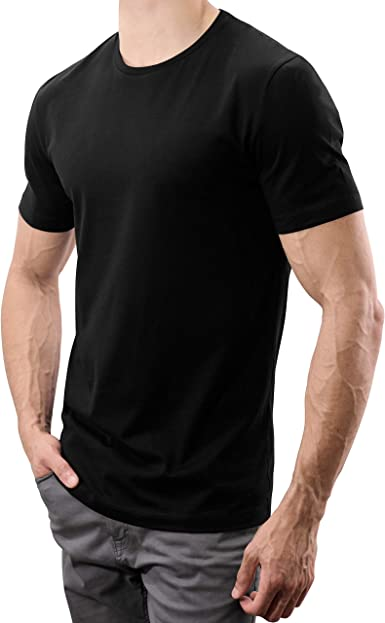 CARE OF by PUMA Mens Cotton Crew Neck T-Shirt in Tall Fit