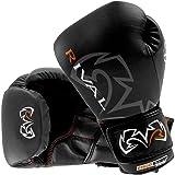 Rival Boxing Optima Sparring Gloves - 14 oz - Black