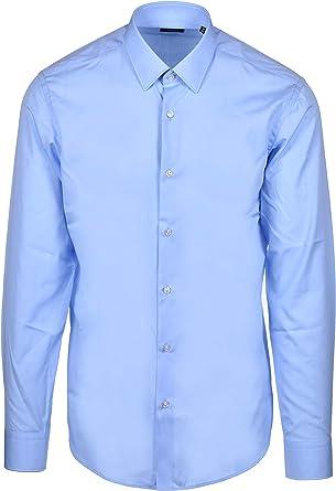 Hugo Boss Eliott Camisa clásica Regular Fit – Azul: Amazon.es: Ropa y accesorios