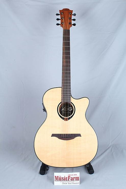 Lag T80ACE - T80a ce guitarra electro acustica auditorium cataway ...
