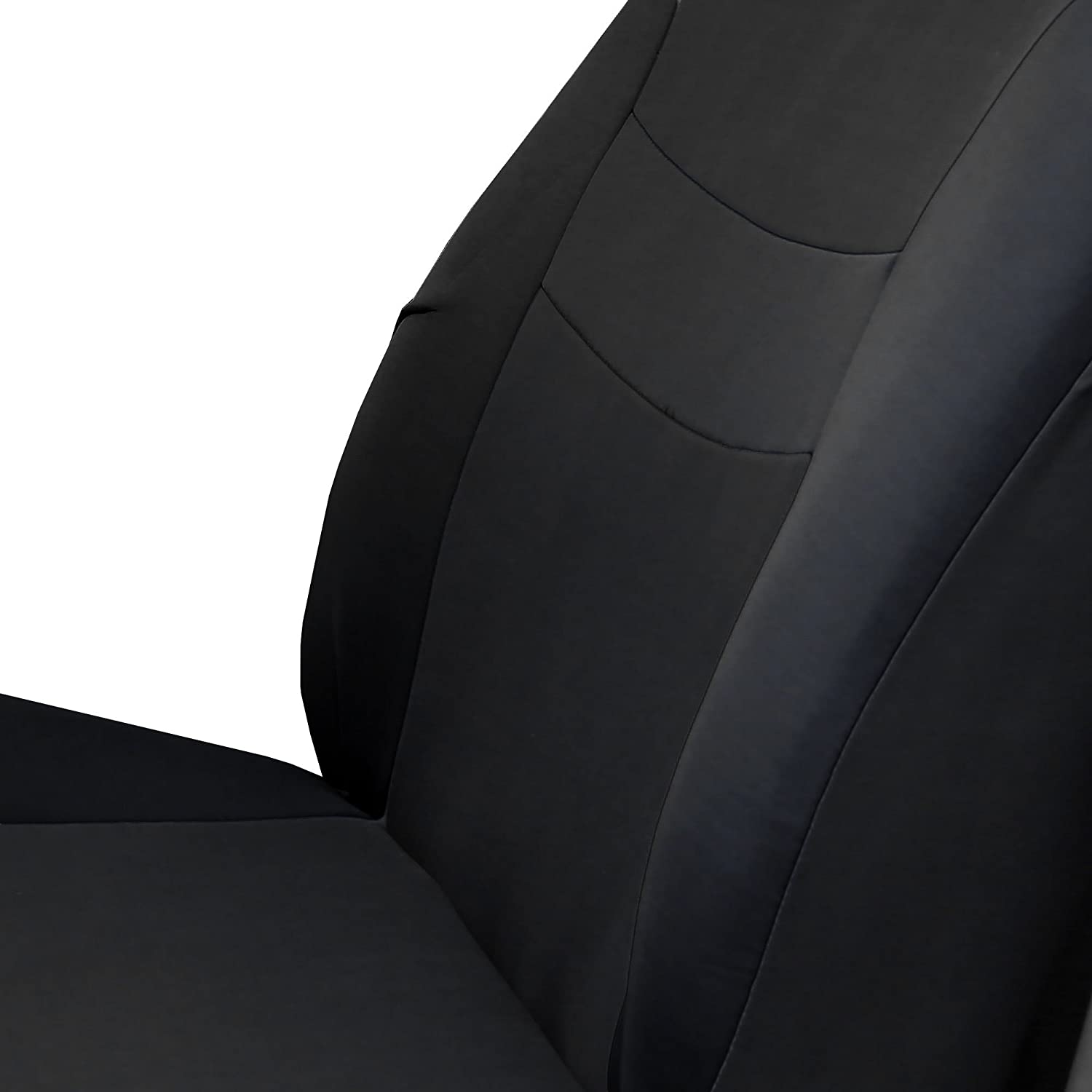 FH Group FB030PURPLE115 full seat cover Side Airbag Compatible with Split Bench Purple