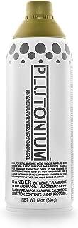 product image for PLUTONIUM Paint Ultra Supreme Professional Aerosol Spray Paint, 12-Ounce, Poupon Yellow