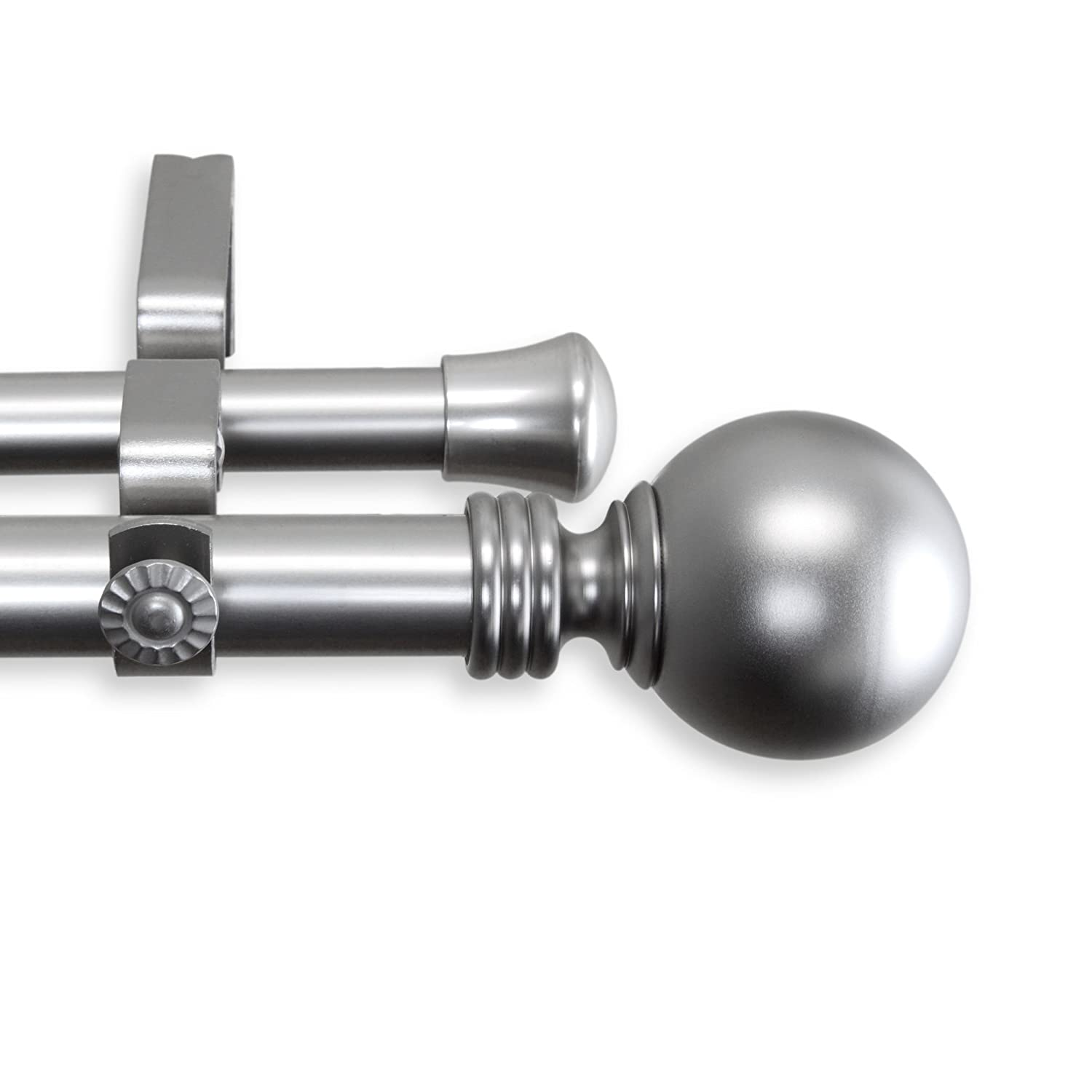 Home Decorative Globe Double Curtain Rod 160-240