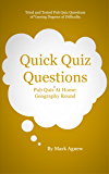 Quick Quiz Questions Pub Quiz At Home: Geography Round