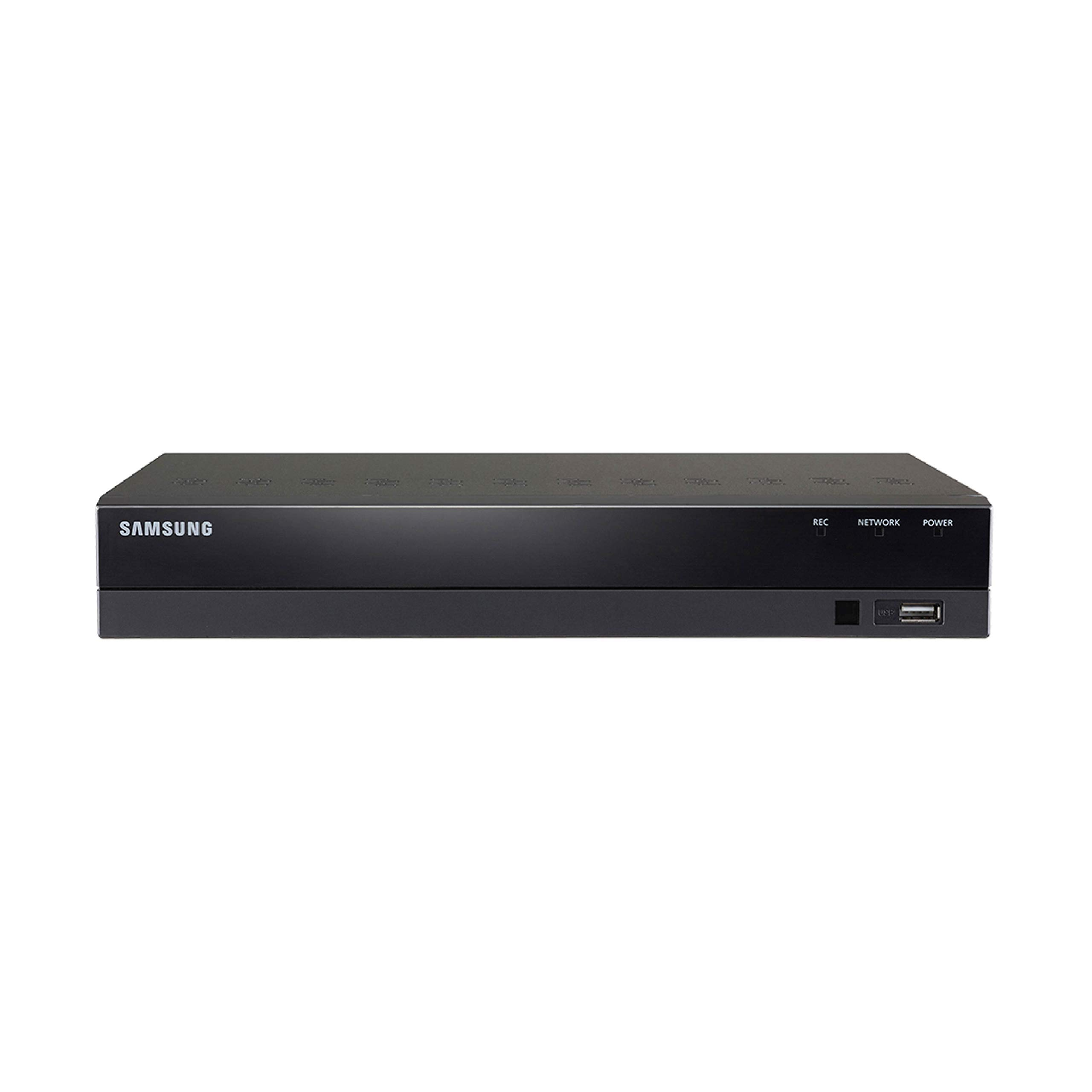 SDR-B74303N (1TB HDD) - Samsung Wisenet 8 Ch 1080p HD DVR from SDH-B74043B, SDH-B74043D (Renewed) by Samsung