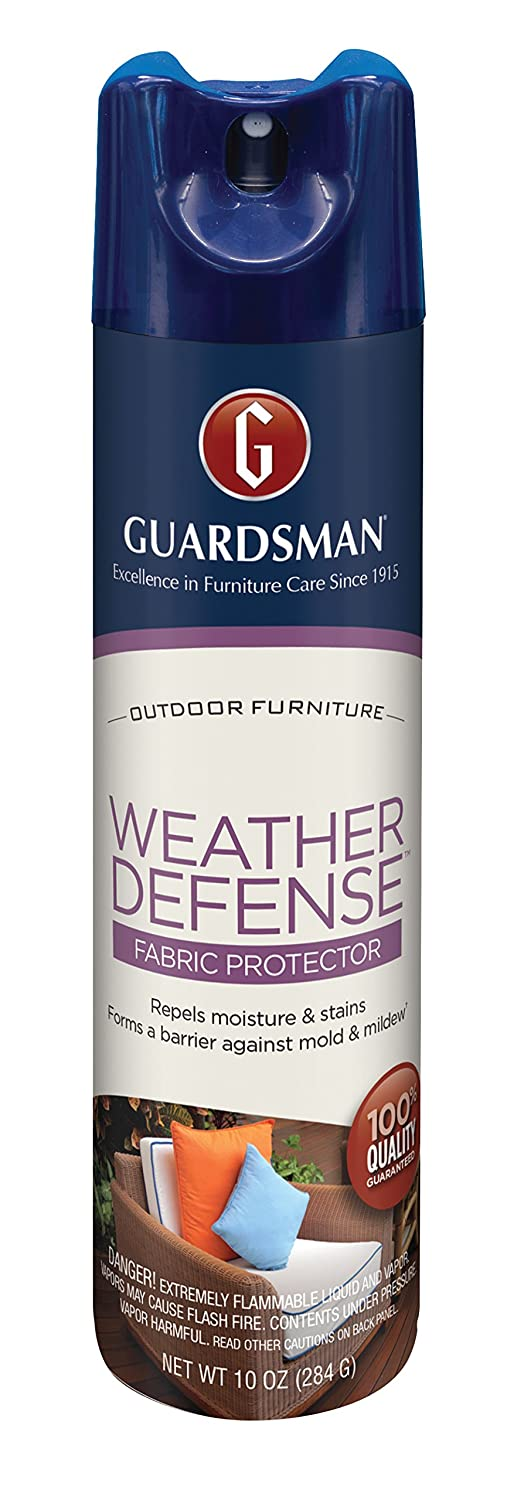 Amazon.com: Guardsman Weather Defense Outdoor Fabric Furniture Protector -  10 oz - Repels Moisture and Stains - 462000: Home