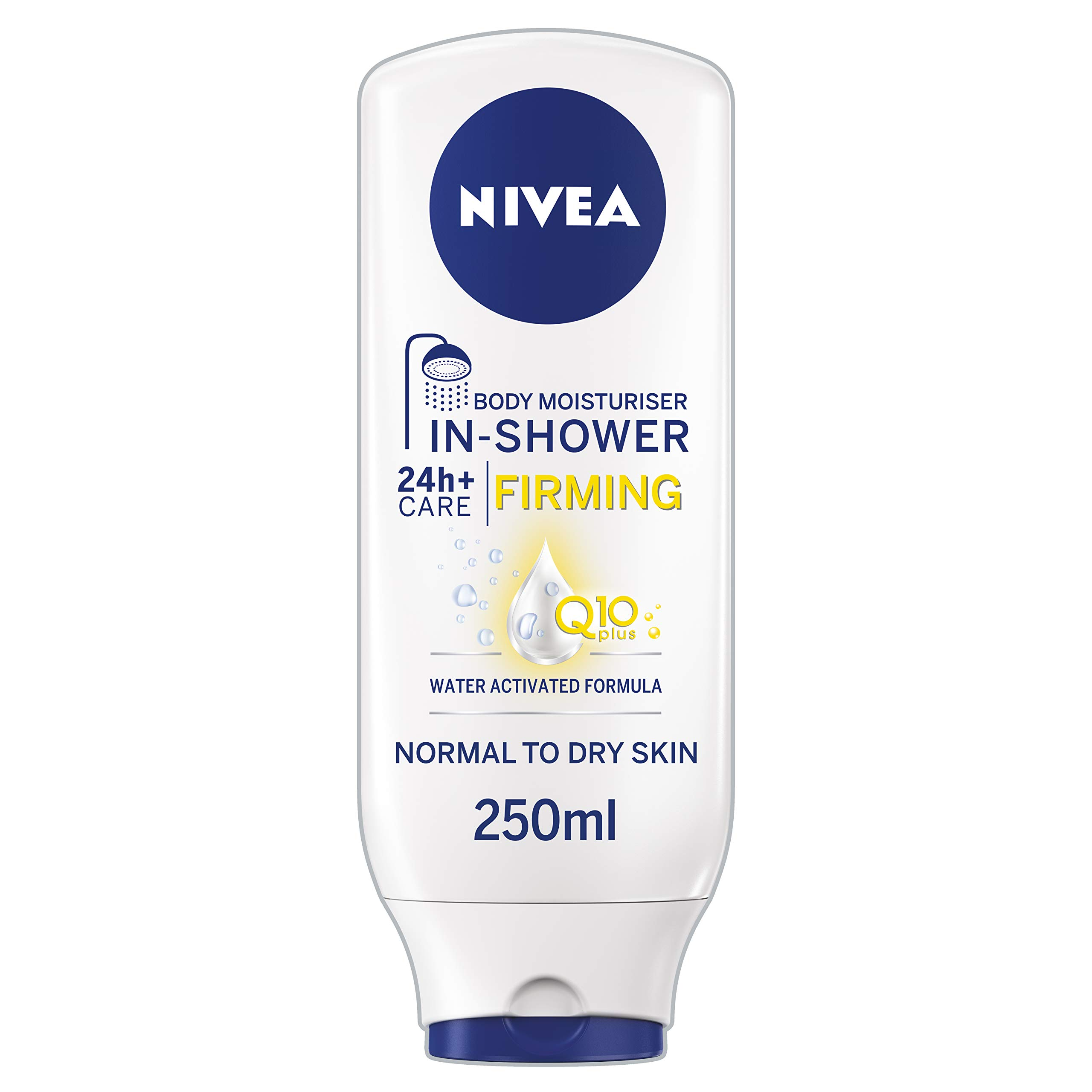 NIVEA In-Shower Body Moisturiser Firming with Q10, 250 ml