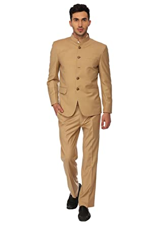 dacf802155d Men's Ethnic Contemporary Wedding Bandhgala Jodhpuri Suit Set-3 Colors  Available Beige