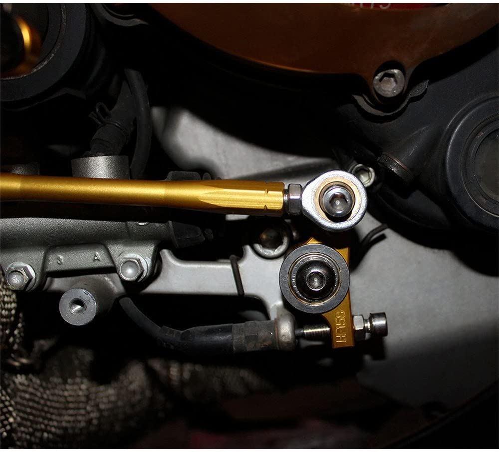 Rearsets Rear Sets Footpegs CNC Adjustable For Ducati 1098 1098S 2007 2008