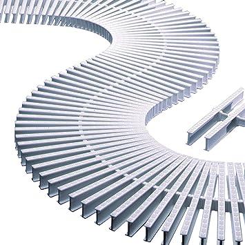 ASTRAL Smartwatch 1 Metro Compuesto de 45 Piezas Rejilla Borde sfioro Piscina celantero 195 X 22 mm. COD 00220 Recambio: Amazon.es: Jardín