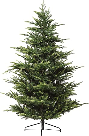 Albero Di Natale Amazon.Sti Albero Di Natale Abete Luxury H 180cm 2328 Rami Effetto Realistico Verde Amazon It Casa E Cucina