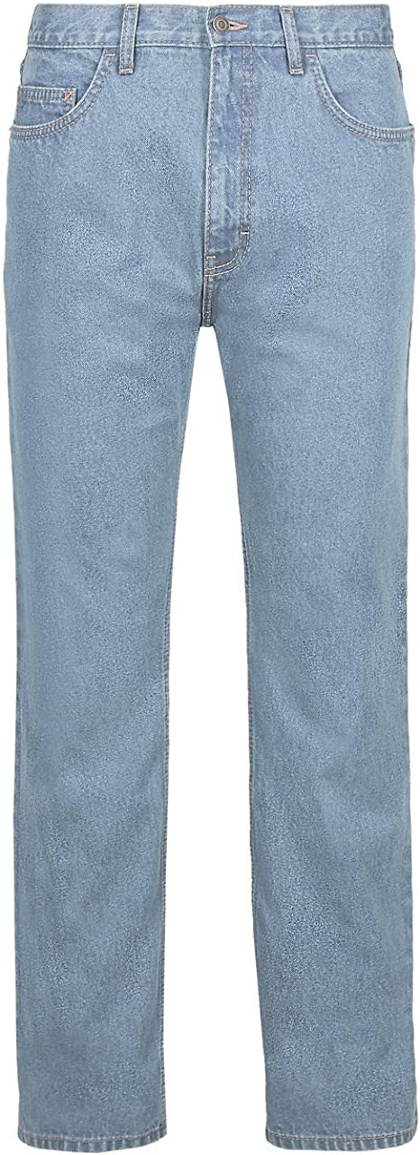 Mens Straight Leg Jeans Ex Branded Casual Regular Fit  Coloured