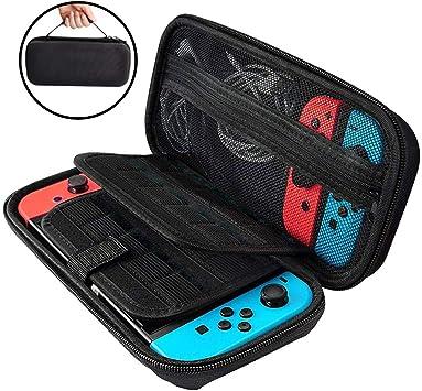 Stanbow Funda para Nintendo Switch, Funda de Transporte Nintendo ...