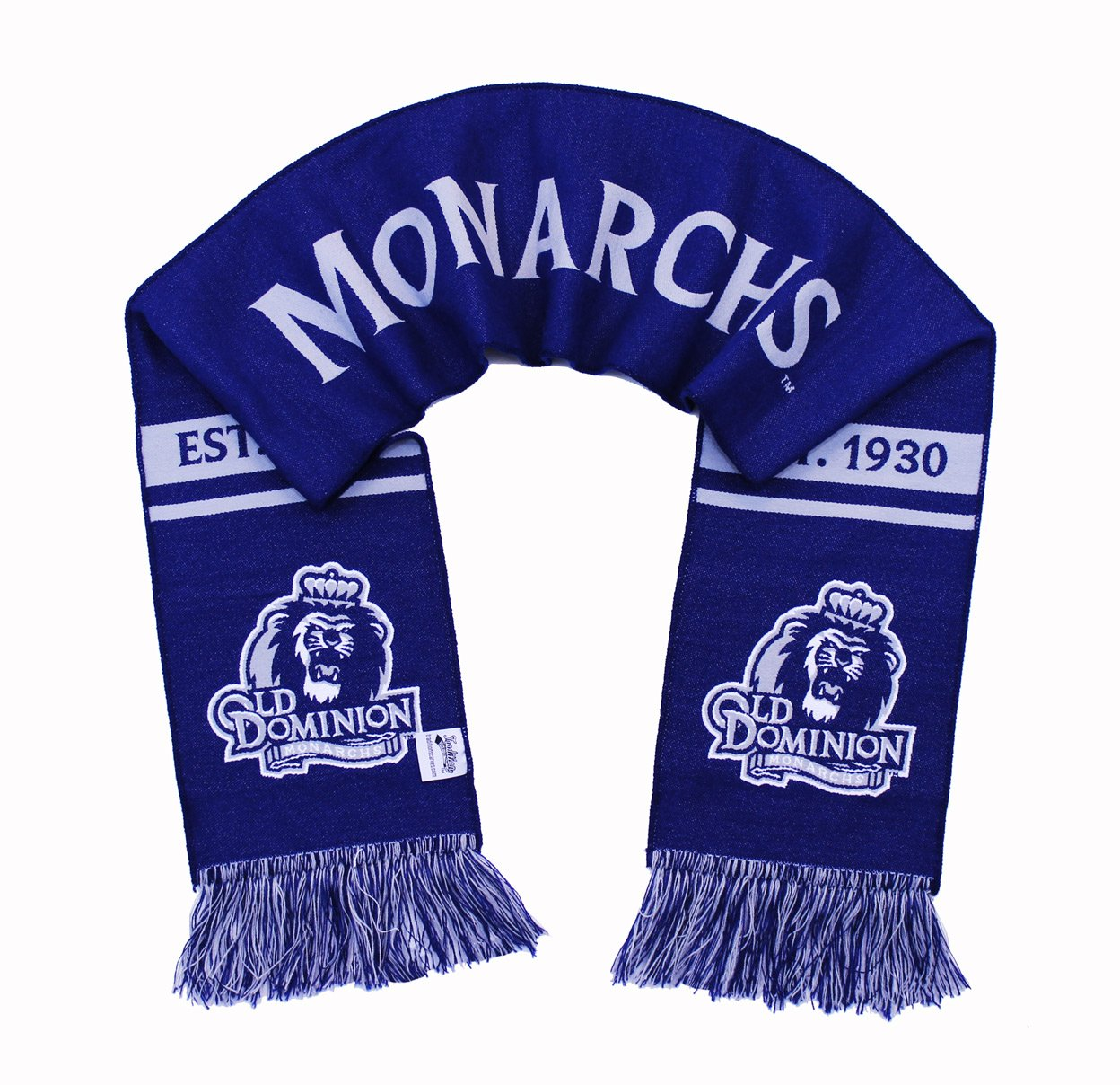 Old Dominion Scarf ODU Monarchs Classic Woven