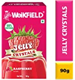 Weikfield Jelly Crystals, Raspberry, 90g