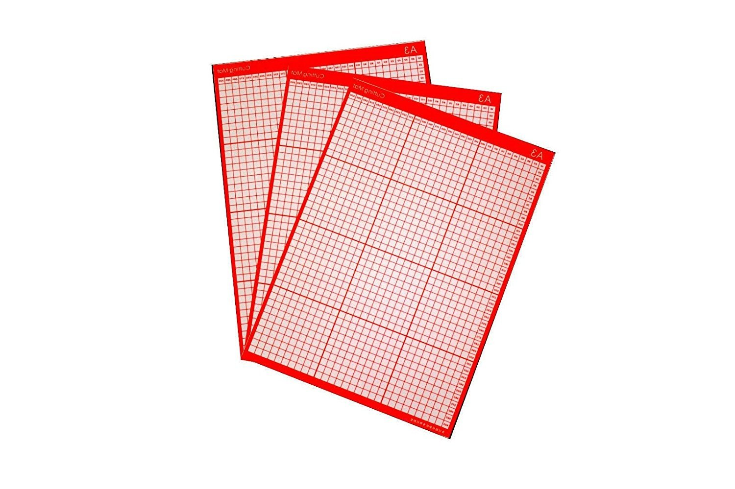 1 A3 Non Slip Professional CUTTING MAT Cutter Plotter Craft Sticky Printed Grid (1) Signzworld