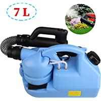 SOOKU Electric ULV Fogger Garden Sprayer, Portable Ultra-Low Atomizer Disinfection Sprayer Include Carrying Strap - Large Area Disinfection Suitable for Indoor Outdoor 7L Capacity 110V