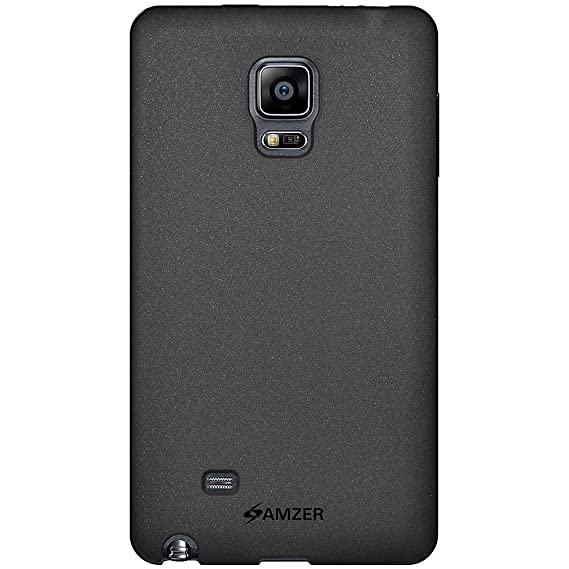 Amzer 97536 Pudding TPU Case - Black for Samsung Galaxy Note Edge SM-N915F Mobile Phone Cases & Covers at amazon