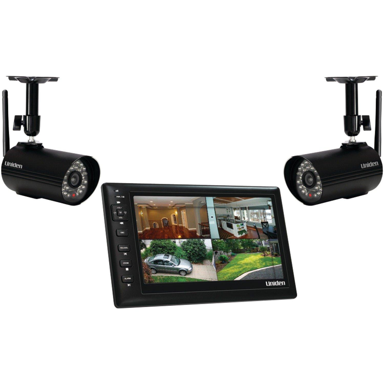 Amazon.com : Uniden UDS655 7-Inch Video Surveillance with 2 Outdoor ...