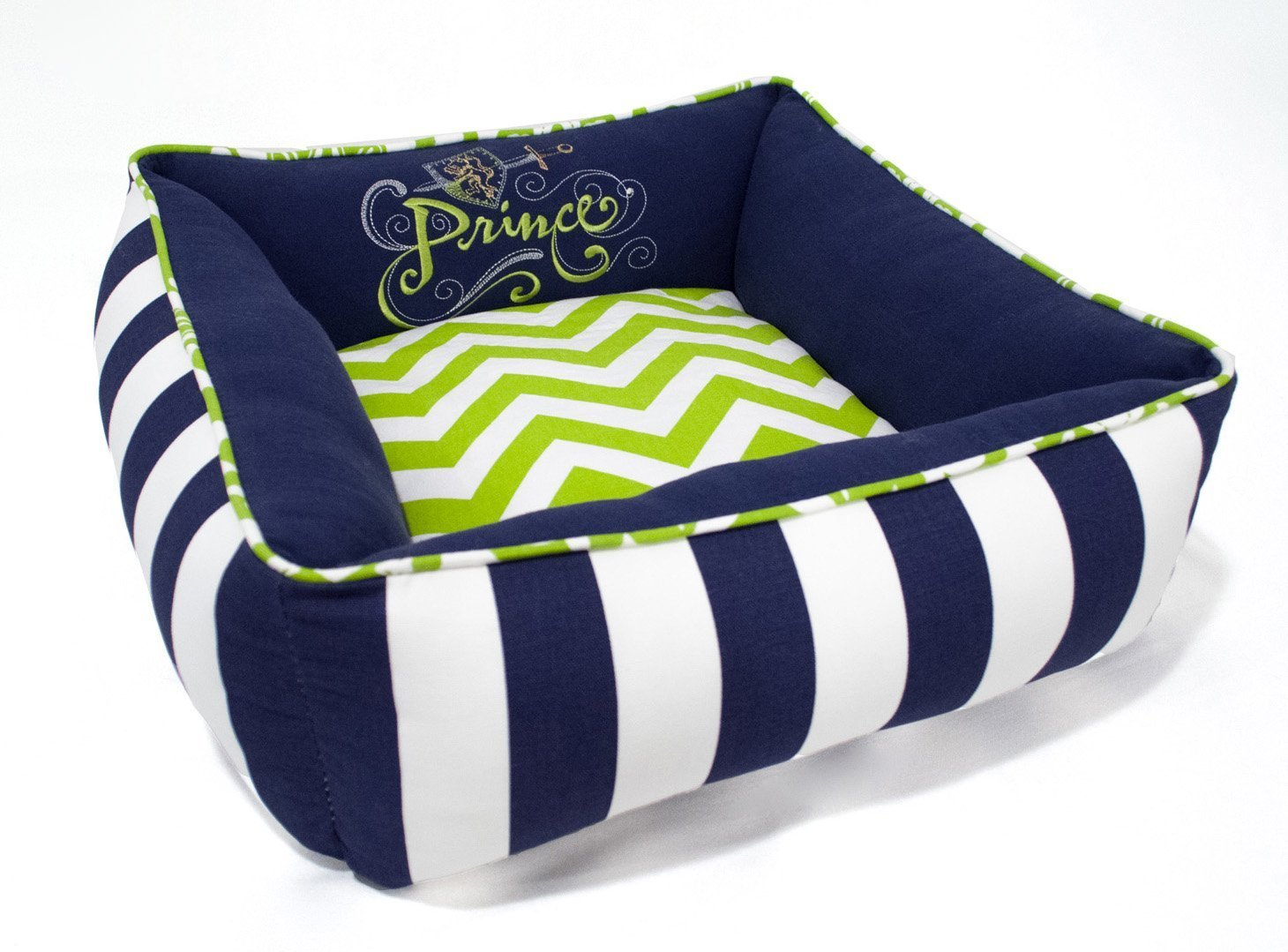 X-Small Prince Dog Cat Pet Bed - Washable Reversible