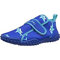 Playshoes Zapatillas de Playa con Protección UV Tiburón, Zapatos de Agua Unisex niños