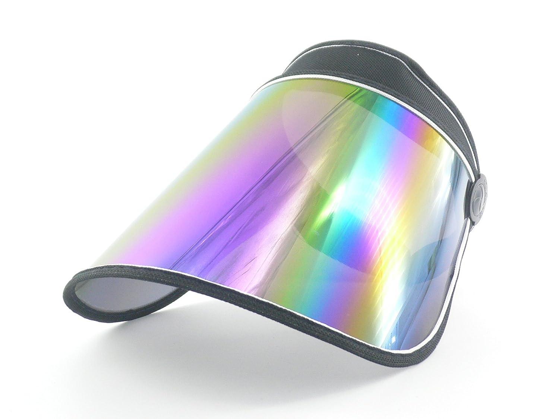 17dd3d2b4bd Amazon.com  Oidon Plastic Sun Visor UV Protection Hat Cap (Black)  Clothing