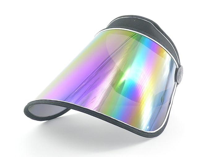 Amazon.com  Oidon Plastic Sun Visor UV Protection Hat Cap (Black ... dbb8607dfde