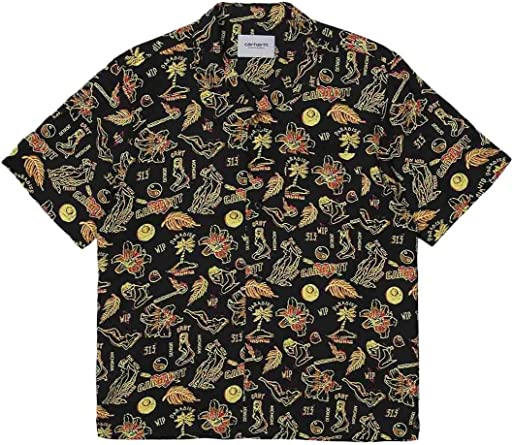 Carhartt Camisa Paradise para Hombre L: Amazon.es: Ropa y accesorios
