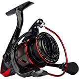 KastKing Sharky III Fishing Reel - New Spinning Reel - Carbon Fiber 39.5 LBs Max Drag - 10+1 Stainless BB for Saltwater…