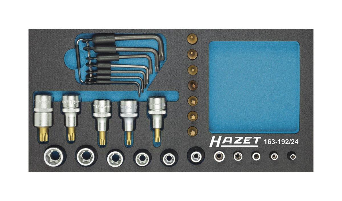 Hazet 163-192/24 Torx socket set