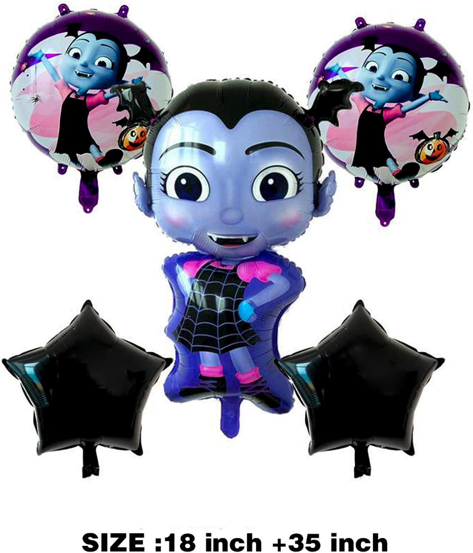 Amazon.com: Vampirina Globos suministros de fiesta de ...