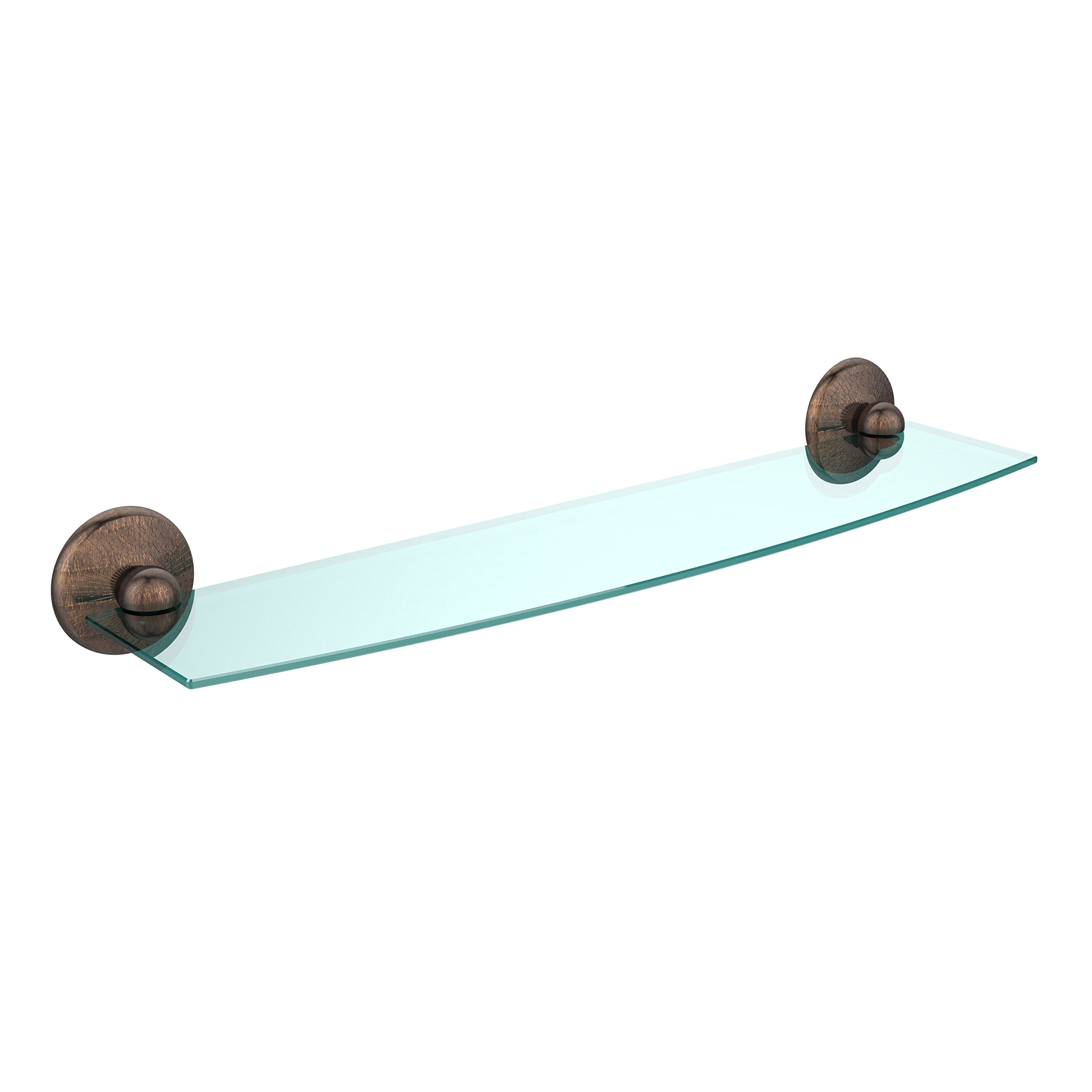 Allied Brass PMC-33/18-BBR 18'' Glass Shelf Oil Rubbed Bronze