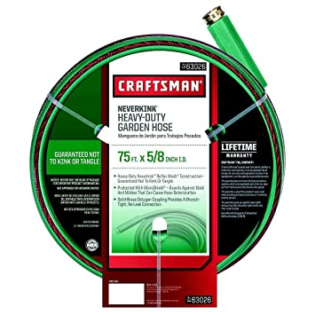 Craftsman Heavy Duty Neverkink Self-straightening Hose - 75-ft ...