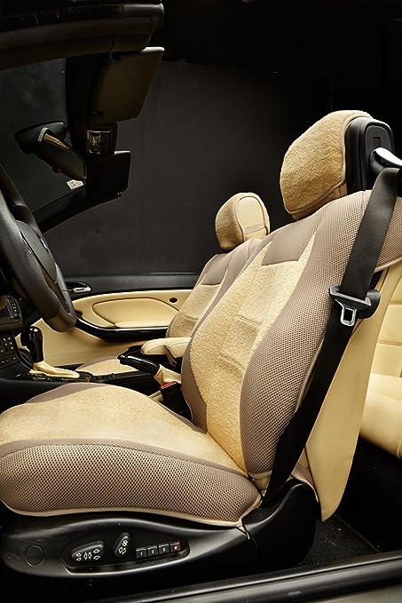 BMW E46 Front Seat Black Headrest Mount Cover