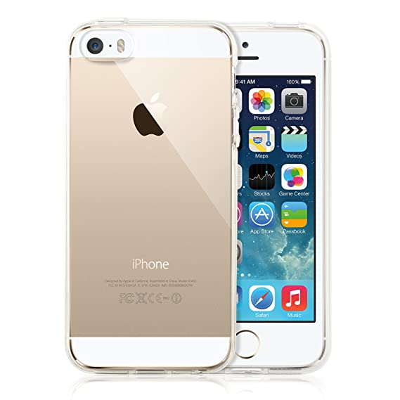 competitive price aaf14 d0d16 Amazon.com: MoboZx Clear Case for iPhone 5S: Cell Phones & Accessories