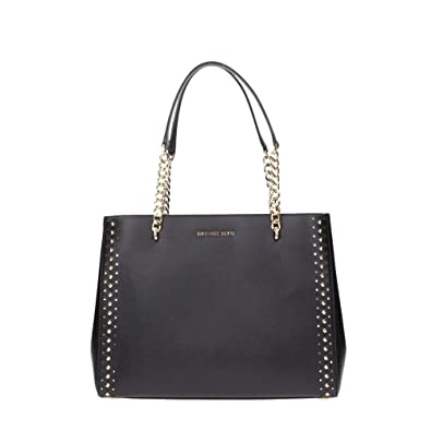 4e5db80ca600 Amazon.com  Michael Kors Ellis Ladies Large Leather Tote Handbag  35H7GE0T3L001  Watches
