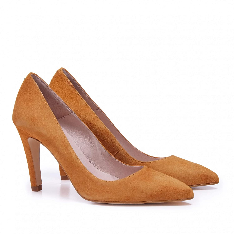 Eva López Escarpins Leder Damen Schuhe Klassische Klassische Klassische  Braun bc4f9e