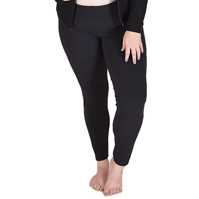 aecc3a5115a Stretch is Comfort Women s Supplex Ankle Length Legging Black X-Large