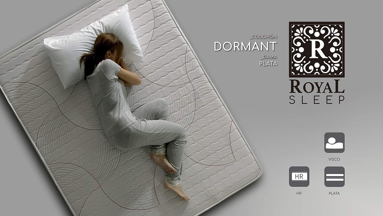 ROYAL SLEEP Colchón viscoelástico 135x190 de máxima Calidad, Confort, adaptabilidad y firmeza Alta, Altura 19cm - Colchones Dormant: Amazon.es: Juguetes y ...