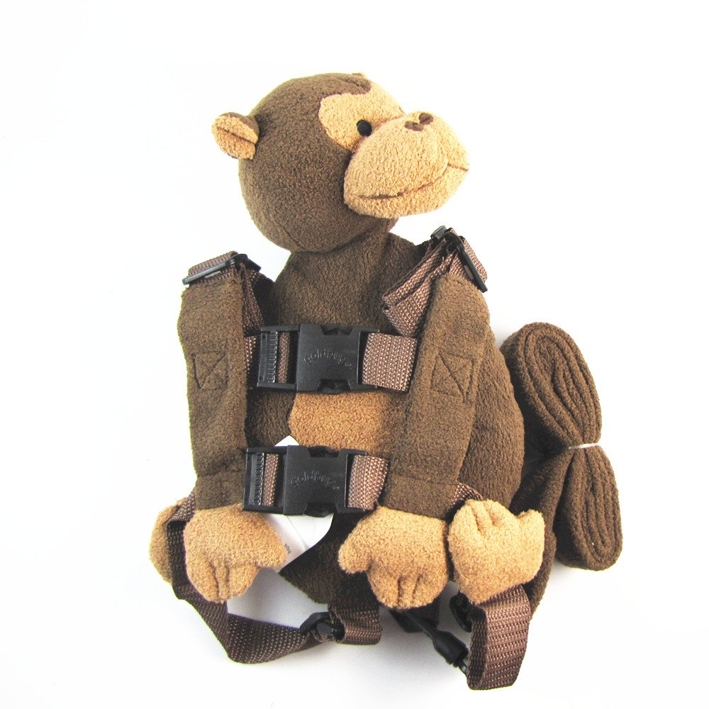 Safety Harness Strap Baby Kid Toddler Walking Cosplay Backpack Reins Bag monkey