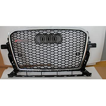 Audi Q5 Upgrade Rsq5 Look Replacement Front Grill-Black