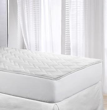 Cubrecolchon-Protector de colchón MAX REVERSIBLE cama 90 X 200. ALGODÓN 100%.
