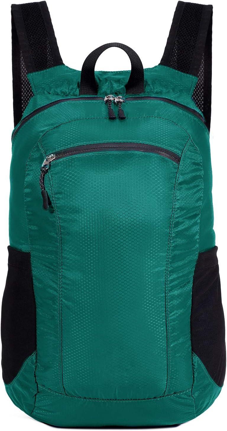 Hommes femmes enfants sac /à dos de voyage pour les sports de plein air camping randonn/ée /à v/&e Petit sac /à dos de randonn/ée pliable ultra l/éger Sac /à dos de randonn/ée r/ésistant /à leau