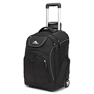 High Sierra Unisex Powerglide Wheeled Laptop Backpack, 17-inch Laptop Backpack